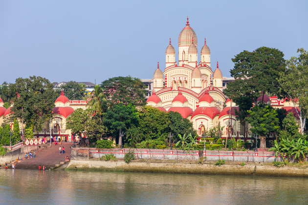 Dakshineswar Kali Temple is a Hindu temple located in Kolkata, India