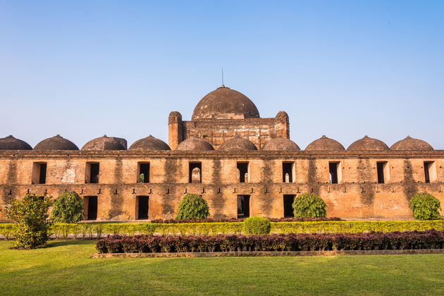 The famous Katra mosque in Murshidabad