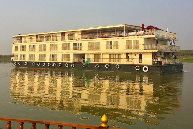 Uniworld's Ganges Voyager II in India