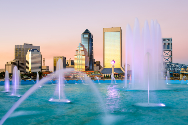 Fountain Skyline in Jacksonville, Florida
