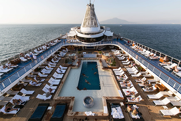 The Pool on Oceania's Riviera