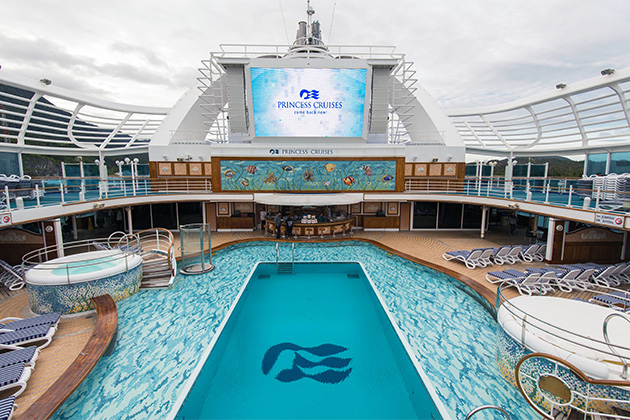 Pool On Ruby Princess