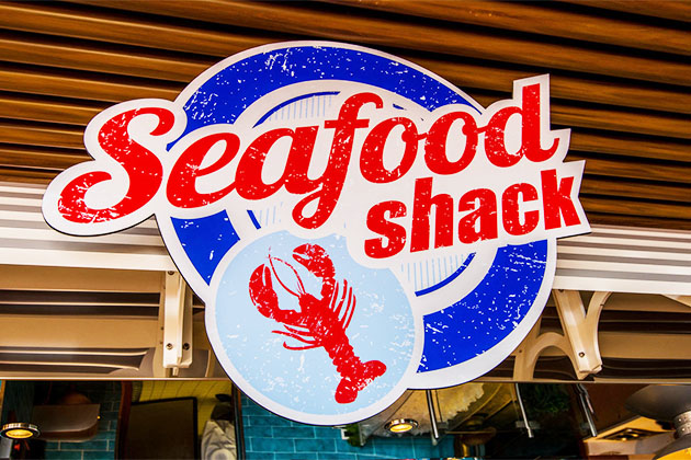 Seafood Shack on Carnival Vista