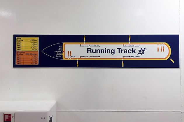 Running Track on Harmony of the Seas