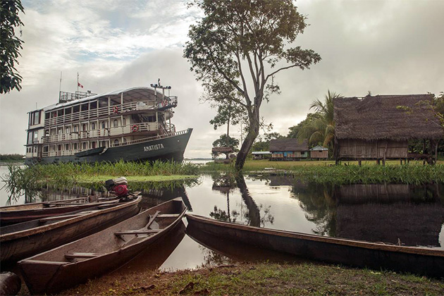 Amatista on the Amazon River