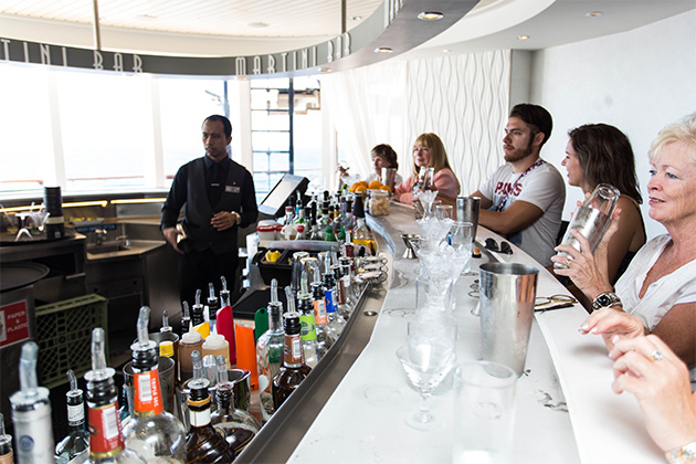 The Martini Bar on Celebrity Infinity