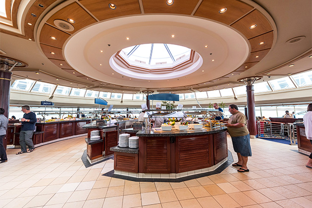 Windjammer Cafe on Rhapsody of the Seas