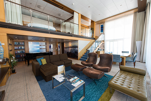 The Royal Loft Suite on Oasis of the Seas