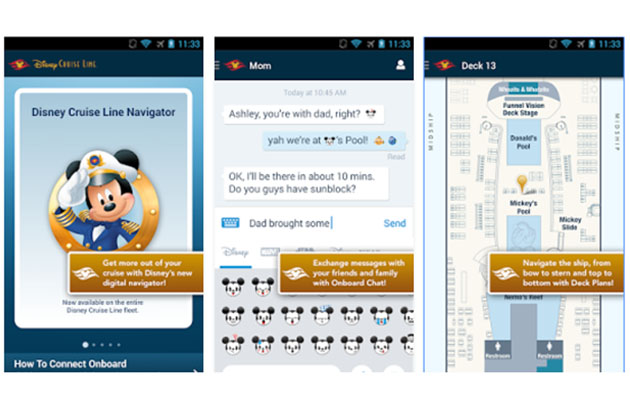 Disney's Navigator App