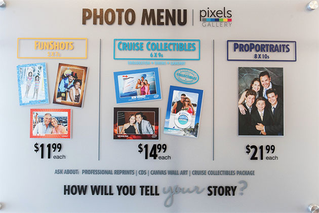Pixels Photo Gallery on Carnival Fantasy