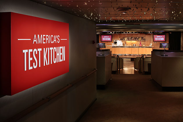 America's Test Kitchen on Holland America