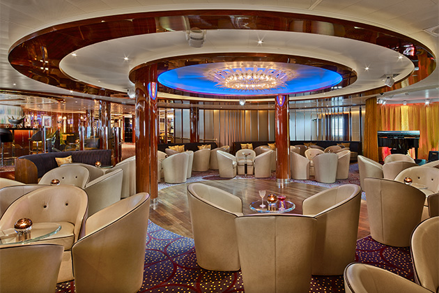Rendering of the Club dance floor on Seabourn Encore