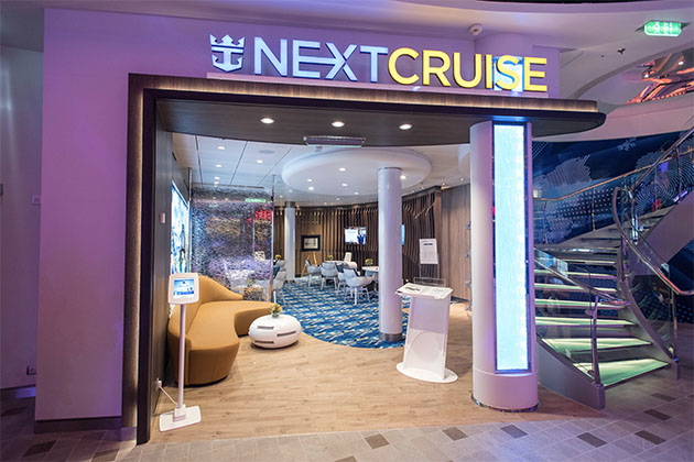 Next Cruise office on Harmony of the Seas (Photo: Cruise Critic)