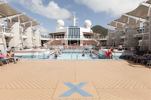 The Main Pool on Celebrity Silhouette