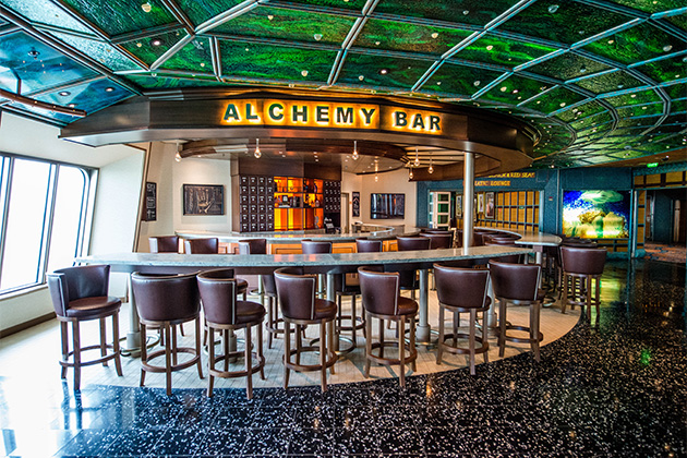 Alchemy Bar on Carnival Victory