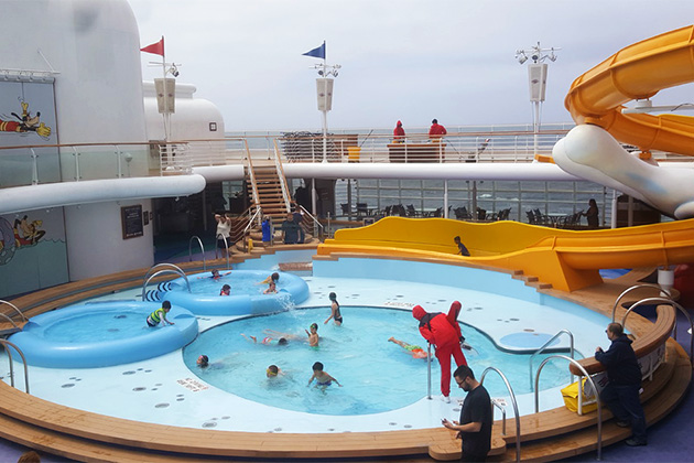 Disney Cruise Pools