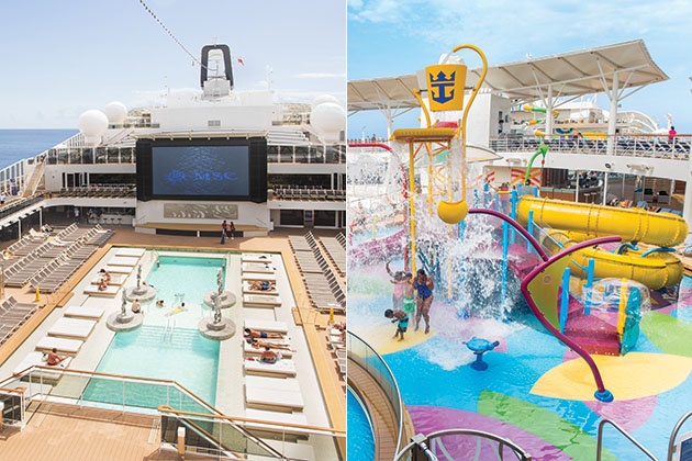 Msc Meraviglia Vs Harmony Of The Seas Cruise Critic