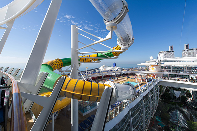 The Perfect Storm on Harmony of the Seas