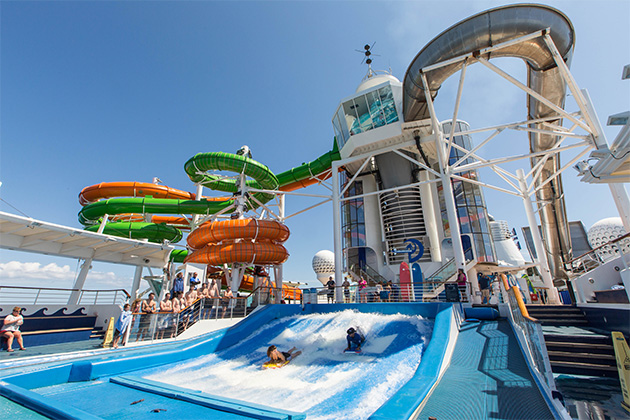 Perfect Storm Water Slides On Royal Caribbean Cruise Critic