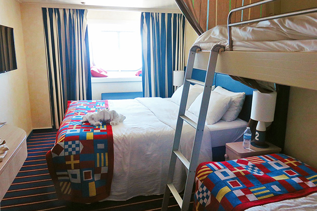 Attractive Family Harbor Cabin On Carnival Vista