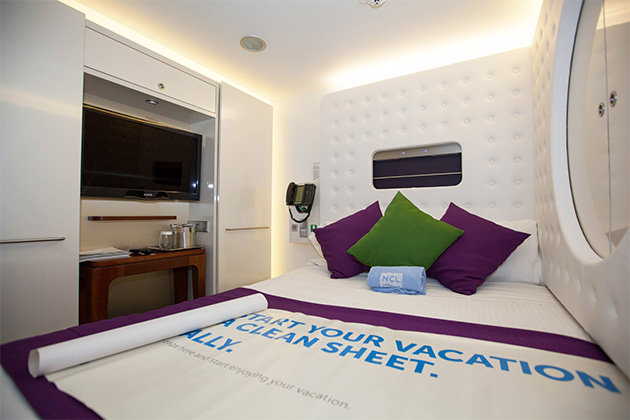 8 trends in cruise ship cabin design cruise critic for Royal caribbean solo cabins