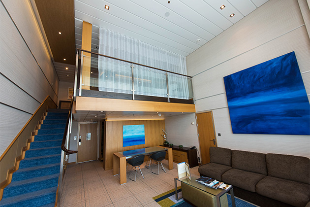 The Sky Loft Suite on Oasis of the Seas