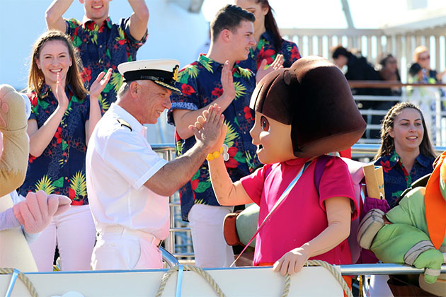 Dora the Explorer on P&O Australia