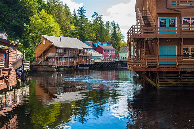 Creek Street in Ketchikan