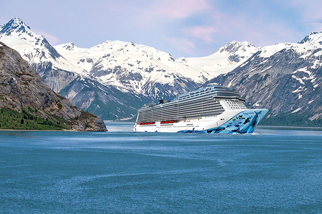 Norwegian Bliss in Alsaka