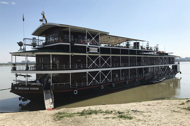 Pandaw is the only commercial line that cruises the Red River. (Photo: lawaldrep/Cruise Critic Member)