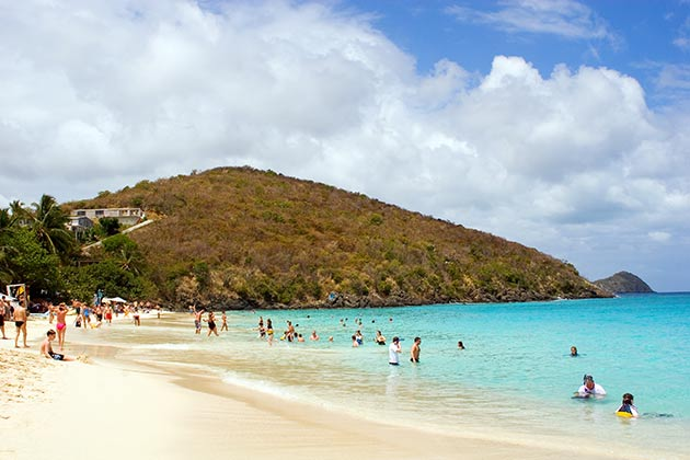 Coki Beach on St. Thomas