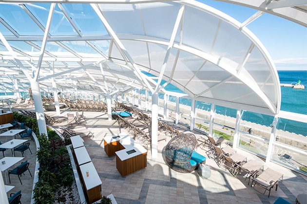 Solarium on Symphony of the Seas (Photo: Cruise Critic)