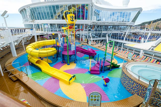 Royal Caribbean's H20 Zone and Splashaway Bay