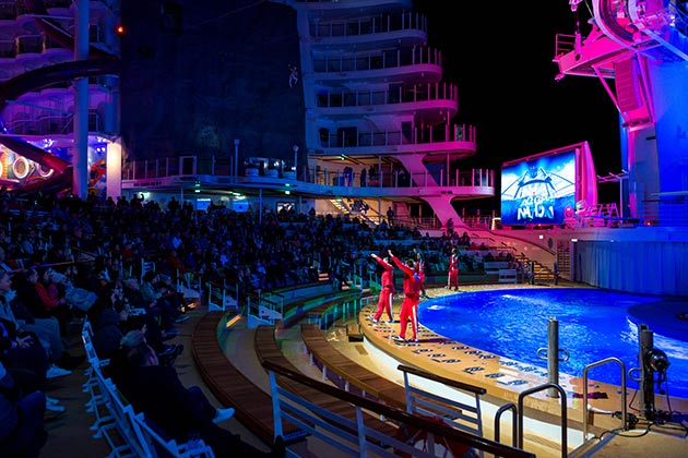 AquaTheater on Symphony of the Seas