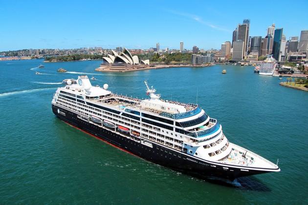 Azamara Quest in Sydney
