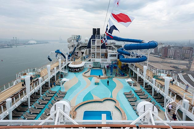Kids' Aqua Park on Norwegian Bliss