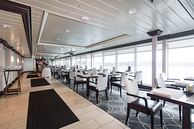 Azamara's Windows Cafe buffet.