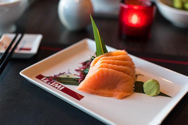 Royal Caribbean's primary sushi venue, Izumi.