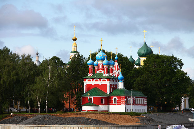 Church of St. Dmitry on the Blood in Uglich, Russia
