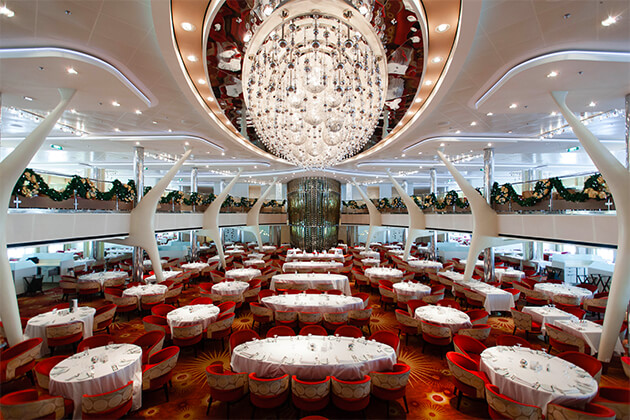 The Grand Cuvee Dining Room on Celebrity Eclipse
