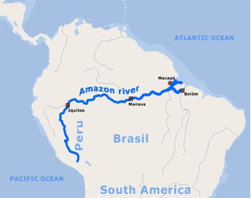 Best Amazon River Shore Excursions Cruise Critic - Where is the amazon river