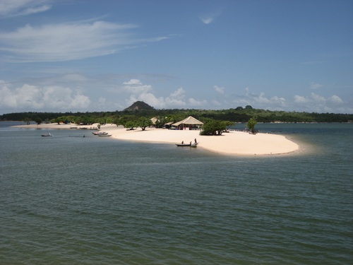 Alter do Chao Beach in Brazil