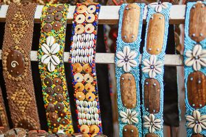 Bracelets in Balinese market - photo courtesy of Ekaterina Pokrovsky/Shutterstock
