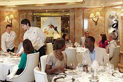 The Verandah - photo compliments of Cunard