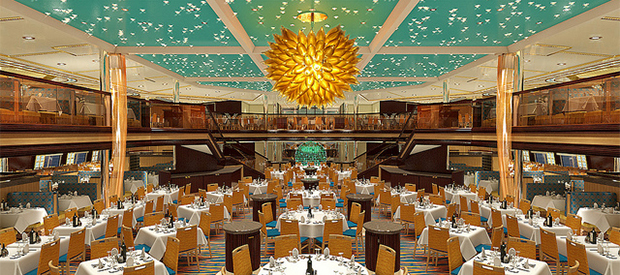 Carnival Sunshine Sunrise Dining Room