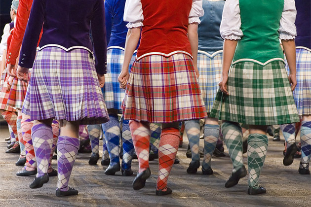 Highland Dances at Edinburgh Tattoo.