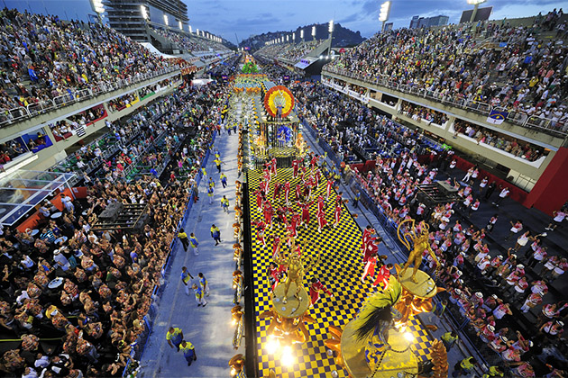 The World Famous Carnival in Rio de Janiero