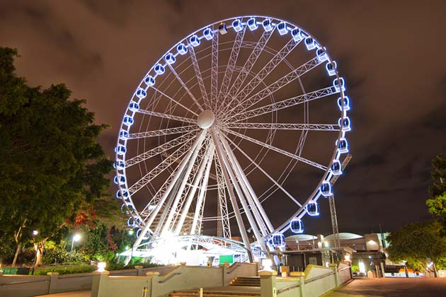 Carousel in Brisbane City