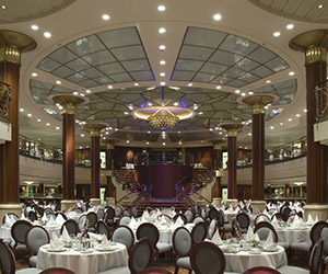 Cruiseship dining room