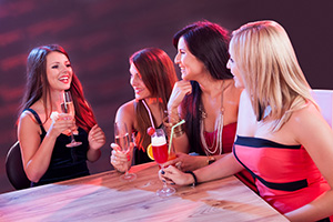 Chatting over drinks - Andrey_Popov/Shutterstock